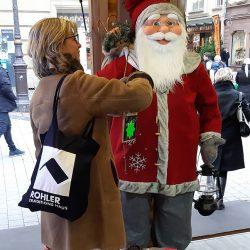 Treffen mit Santa Claus