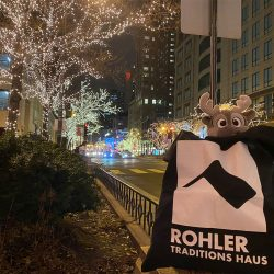Weihnachtszeit in Chicago