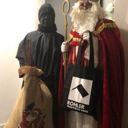 Wenn der Weihnachtsmann Geschenke bringt